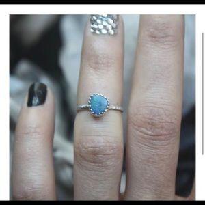 Jewelry - Australian opal midi ring